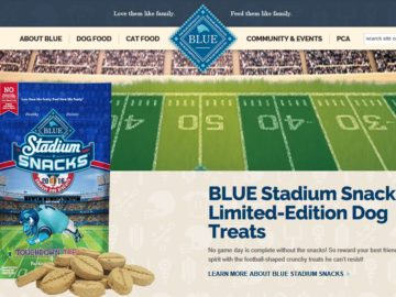 The BLUE Stadium Snacks Ultimate Tailgate Giveaway Sweepstakes