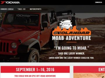 Geolandar Moab Adventure Sweepstakes