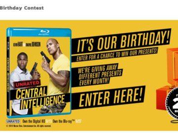 The Jones Soda Birthday Gift Giveaway Contest