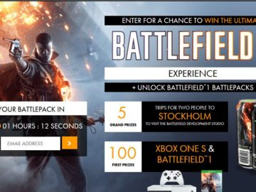 Monster Energy BATTLEFIELD 1 Experience Sweepstakes