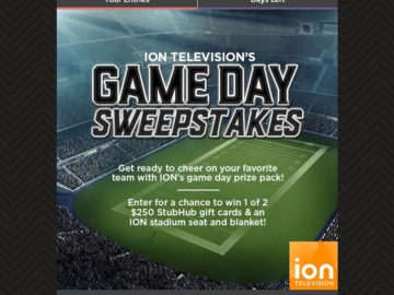 ION Television's Game Day Sweepstakes