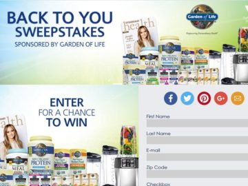 The Vitamin Shoppe Back to You Sweepstakes