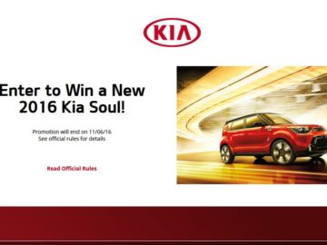 The KIA Soul Sweepstakes
