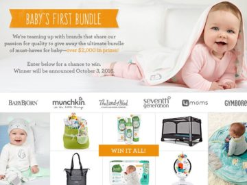 Gymboree Baby's First Care Package Sweepstakes