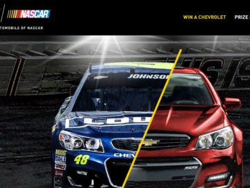 Chevrolet Chase for the NASCAR Sprint Cup Sweepstakes