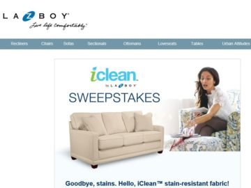 The La-Z-Boy iCLean Sweepstakes