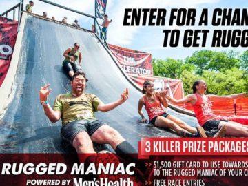 """The Men's Health """"Rugged Maniac"""" Sweepstakes"""