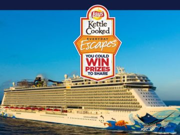 The Lay's Kettle Cooked Everyday Escapes Sweepstakes
