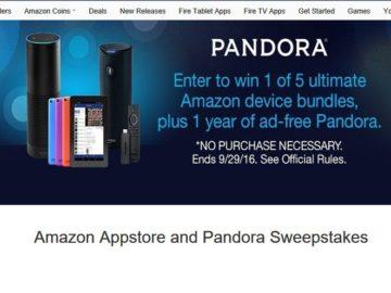 The Pandora's Ultimate Amazon Bundle Sweepstakes