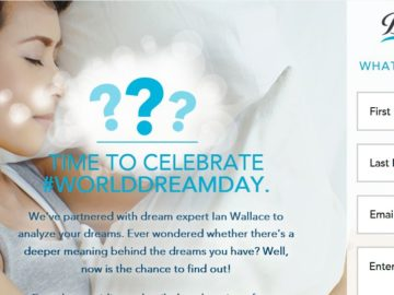 Beautyrest World Dream Day Giveaway Sweepstakes