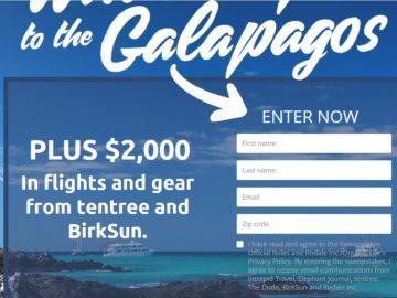 Galapagos IslandSweepstakes