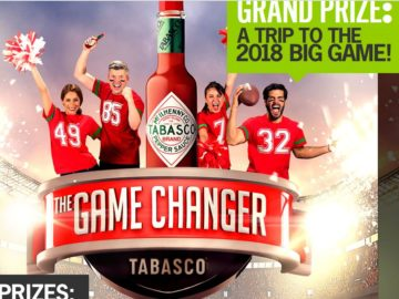 The TABASCO Game Changer Sweepstakes