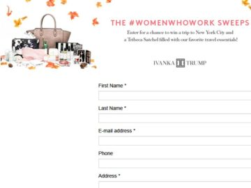 The InStyle #WomenWhoWork Sweepstakes