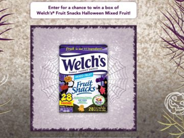 Welch's Fruit Snacks – Trick or Treat Sweepstakes