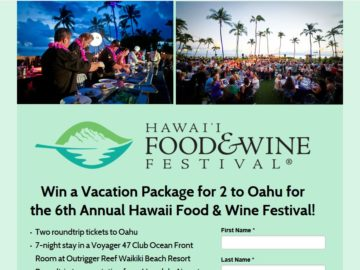 Delta Vacations HFWF Sweepstakes