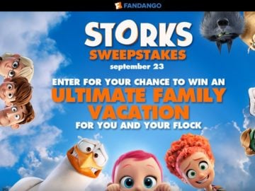 Fandango's Storks Sweepstakes