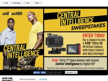 Central Intelligence Sweepstakes