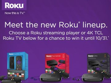 The Meet the New Roku Streaming Device Lineup Sweepstakes