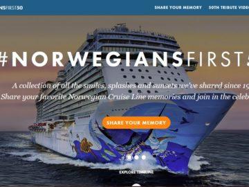 Norwegian Cruise Line 50th Anniversary Sweepstakes