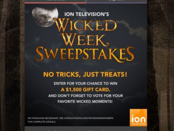 ION Television's Wicked Week Sweepstakes