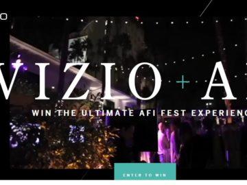 VIZIO 2016 AFI Fest Experience Sweepstakes