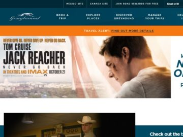Greyhound's Hit the Road Jack Sweepstakes