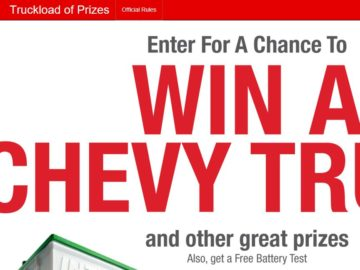 The Truckload of Prizes Sweepstakes