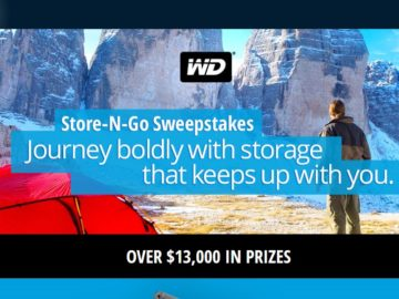 The Newegg Store & Go Sweepstakes