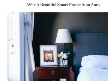 Apartment Therapy Aura Smart Frame Sweepstakes