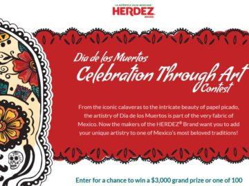 "The HERDEZ ""Dia de Los Muertos Celebration Through Art"" Social Media Contest"