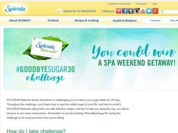 Goodbye Sugar 30 Day Spa Giveaway Sweepstakes