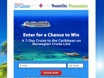 "The Sherman Cruises ""Win Your Dream Cruise"" Sweepstakes"