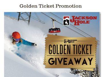 Jackson Hole Golden Ticket Giveaway Sweepstakes
