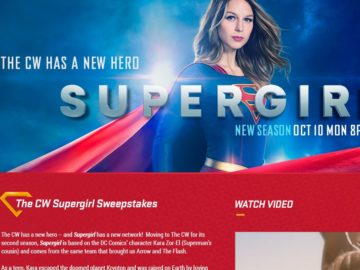 The CW Supergirl Sweepstakes