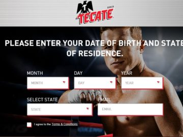 Tecate We've Got Your Back Sweepstakes