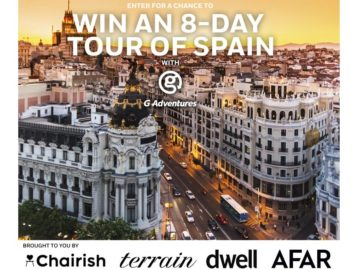 The AFAR Media Win a Trip to Spain Sweepstakes