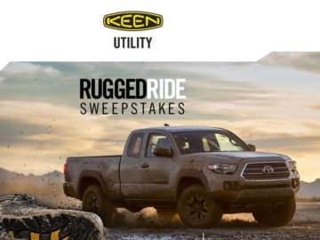 """The KEEN """"Rugged Ride"""" Sweepstakes"""