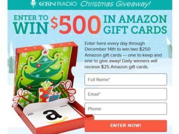Radio Christmas Giveaway Sweepstakes