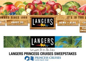 Langer's Princess Cruises Sweepstakes