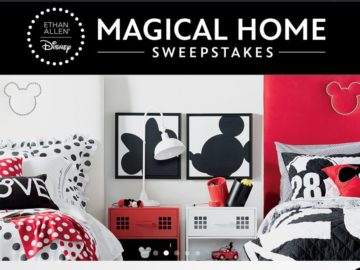 Ethan Allen and Disney Magical Home Sweepstakes