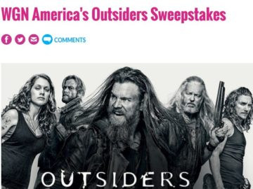 WGN America's Outsiders Sweepstakes