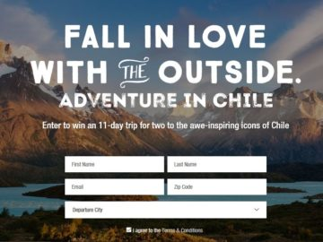 """Marmot """"Fall in Love with the Outside"""" Sweepstakes"""