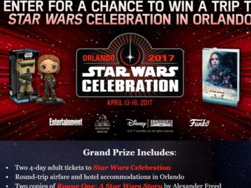 Random House Star Wars Sweepstakes