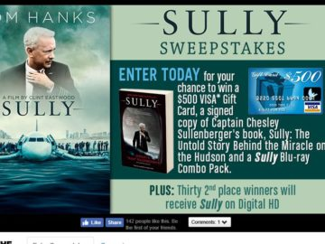 Warner Bros. Sully Sweepstakes