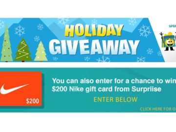 LIVE's Holiday Giveaway Sweepstakes