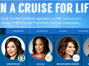 Carnival Corporation 2017 Charity Challenge Sweepstakes