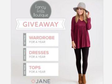 Jane Giveaway Sweepstakes