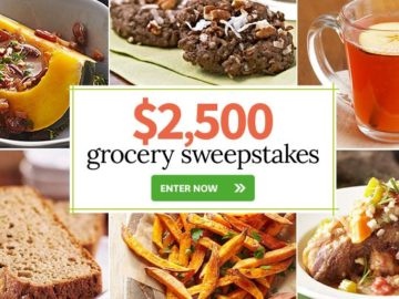Charming Better Homes U0026 Garden $2,500 Grocery Sweepstakes