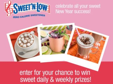 Sweet'N Low Celebrate Your Sweet Success Sweepstakes