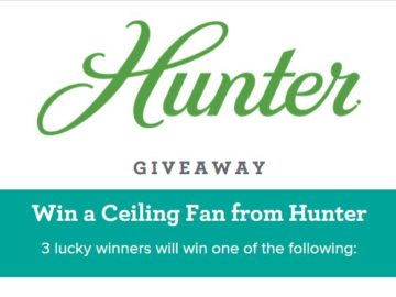 Build.com Hunter Giveaway Sweepstakes